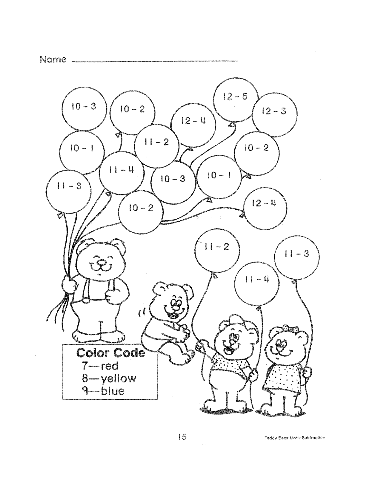 2nd Grade Math Color By Number Coloring Pages Sketch Coloring Page