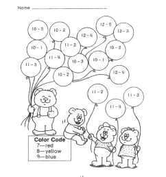 Fun Math Worksheets to Print   Activity Shelter [ 1600 x 1236 Pixel ]