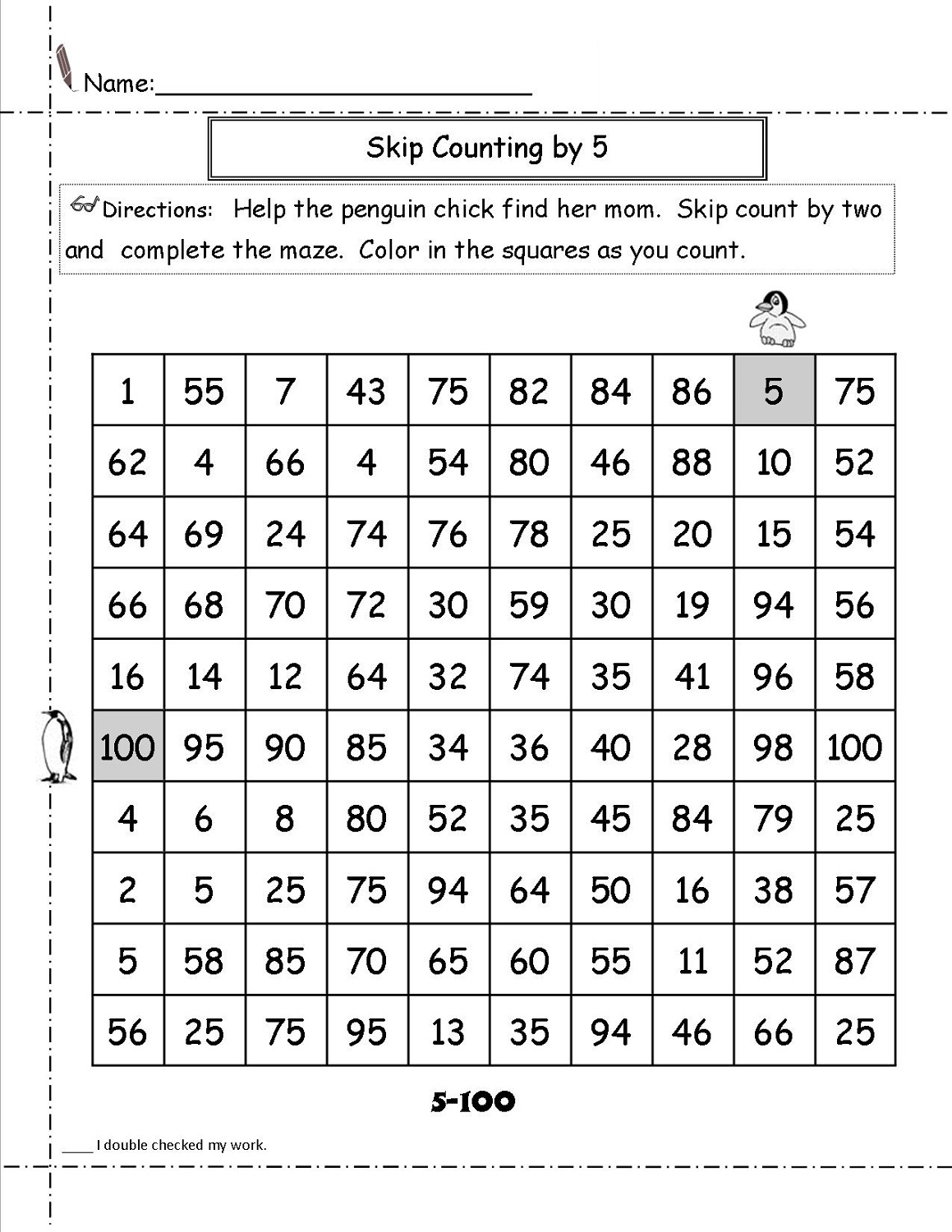 Math Maze Worksheets