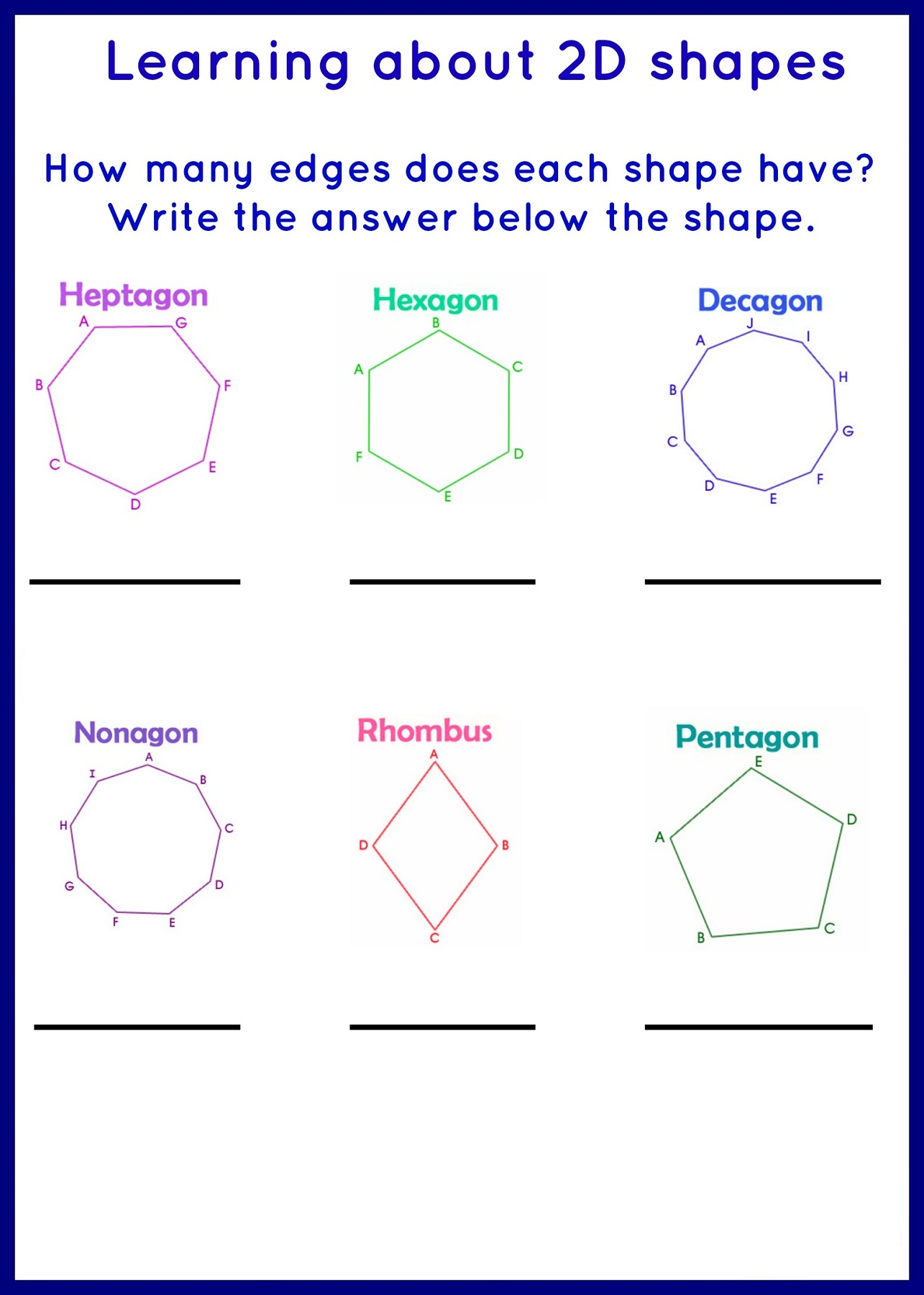 Teaching Worksheet Christmas Shapes