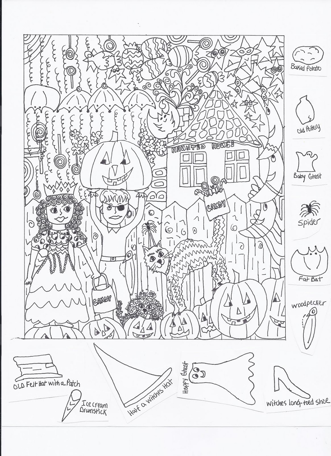 Worksheet Hidden Picture Worksheet Worksheet Fun