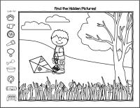 Hidden Pictures Worksheets For Kindergarten. Hidden. Best ...