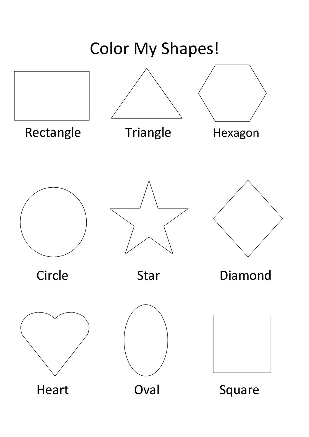Learning Shapes Preschool