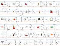 Pre K Letters Templates