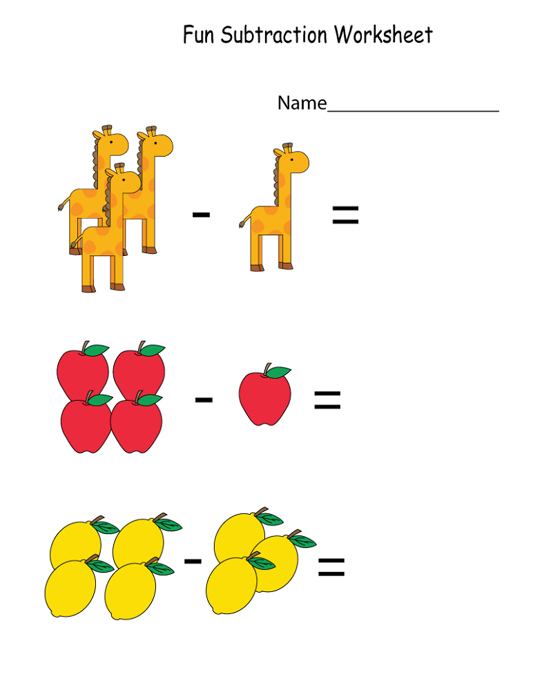 Math Worksheets Fun To Print