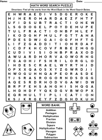 Word Puzzle Worksheets | Activity Shelter