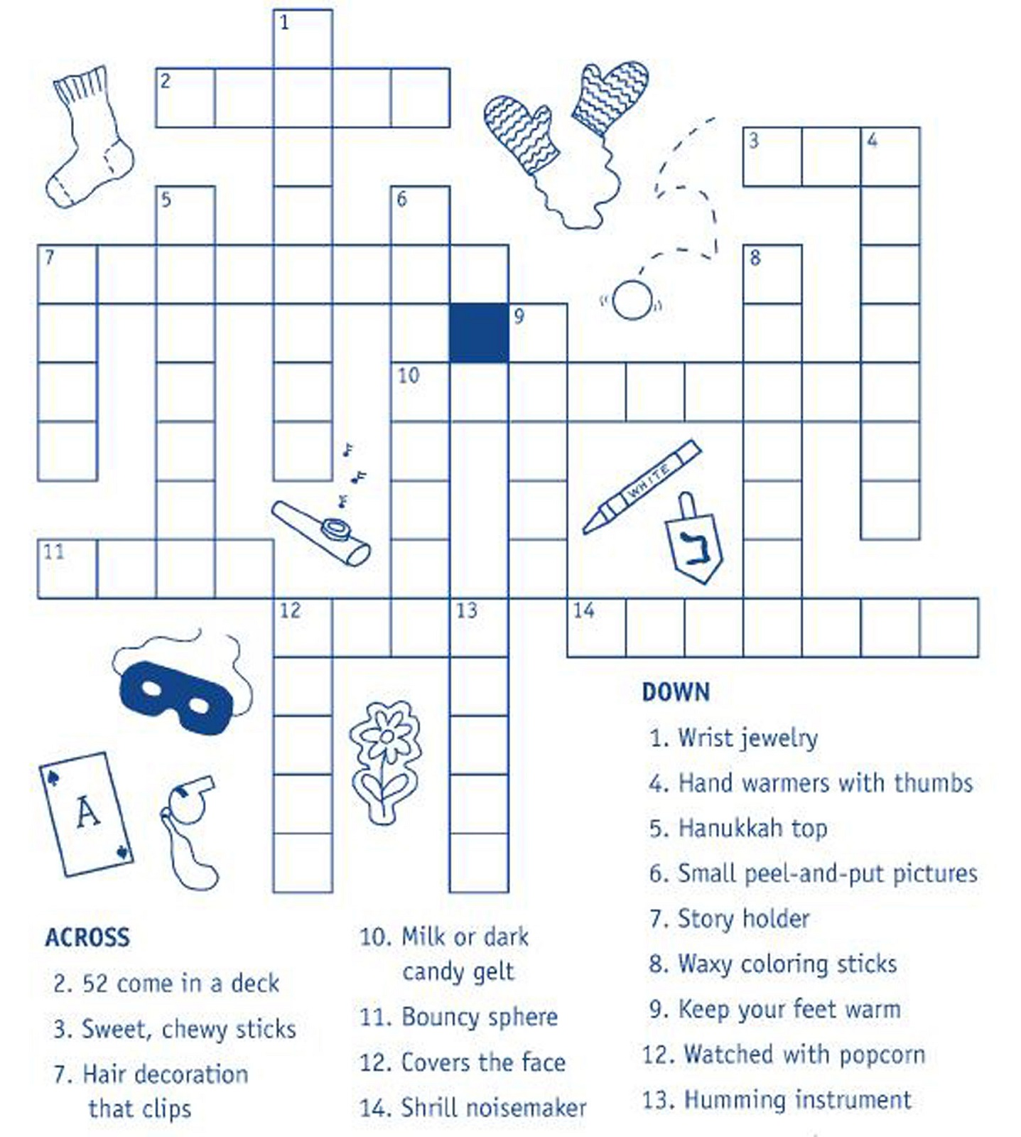 Kids Crossword Puzzles Worksheets