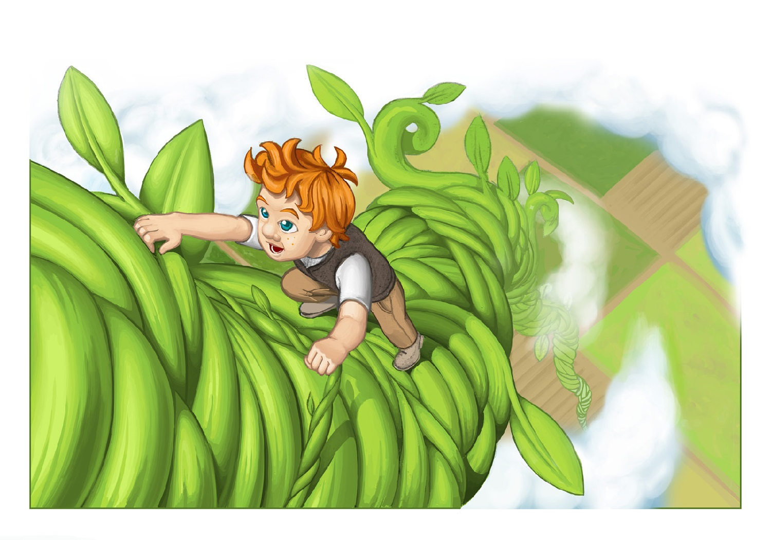 Pictures Of Jack And The Beanstalk