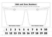 Even and Odd Number Worksheets | Activity Shelter