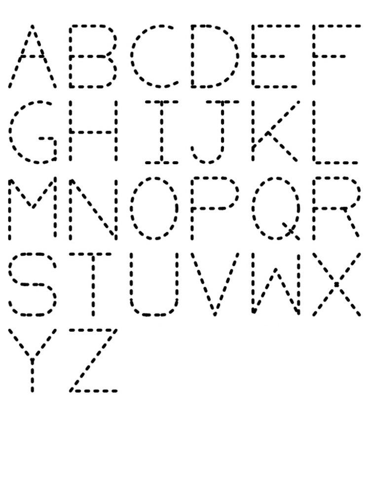 Letters Worksheets » Tracing Letters Worksheets For Pre K