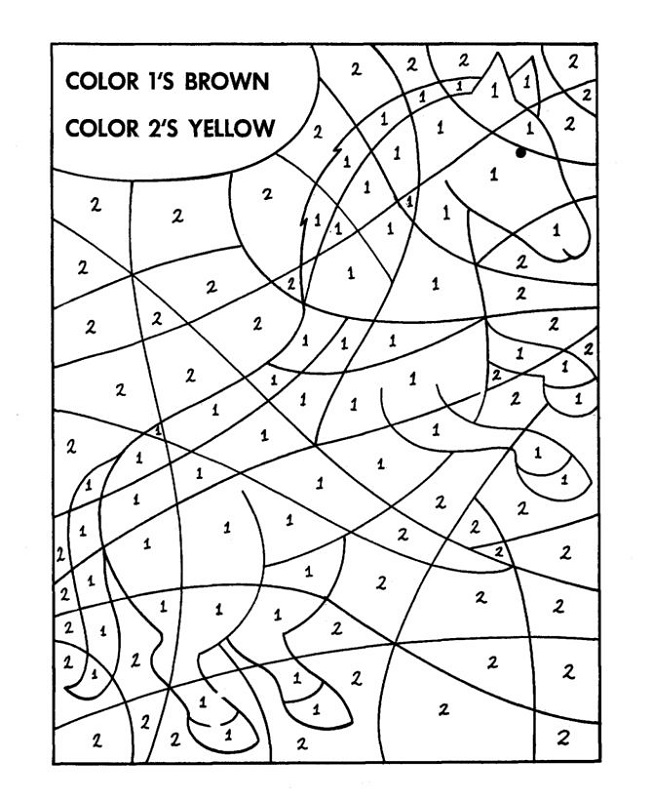 Math Worksheets » Hidden Picture Math Worksheets