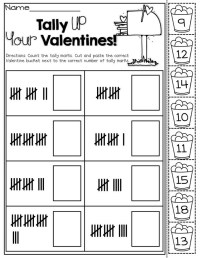 Tally Marks Kindergarten Worksheets. Tally. Best Free ...