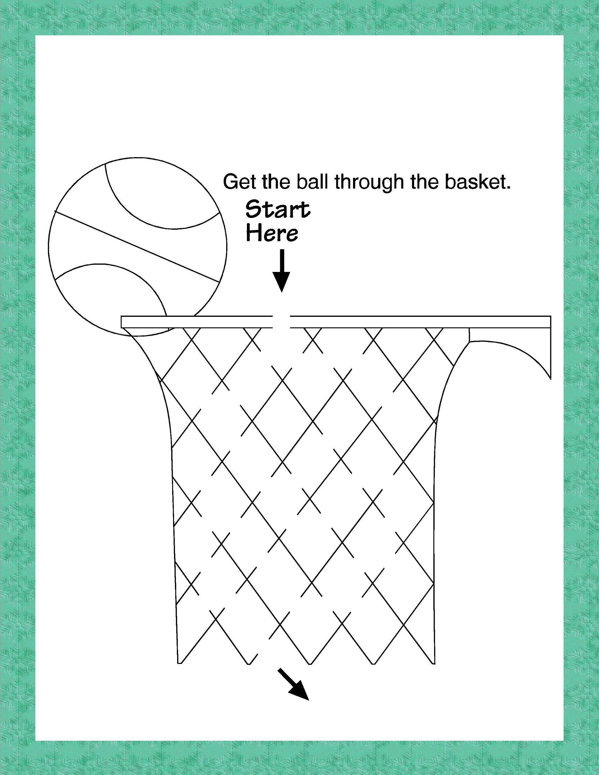 Basketball Activities For Kids