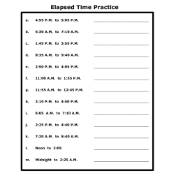 Printable Time Elapsed Worksheets   Activity Shelter [ 1500 x 1159 Pixel ]
