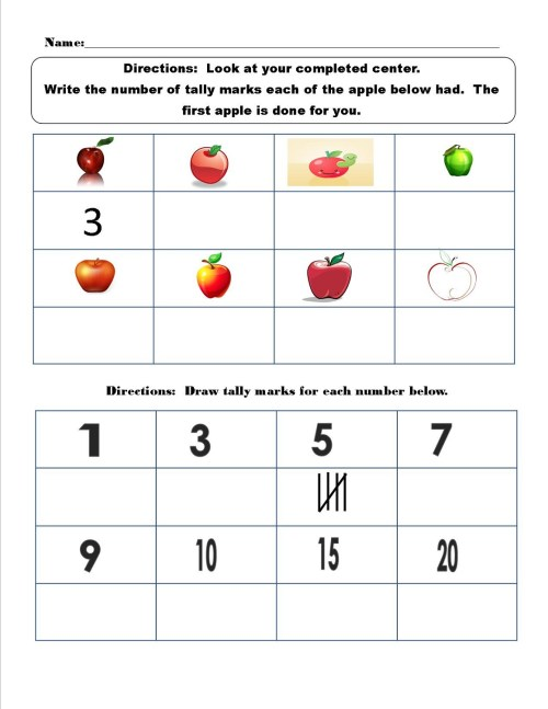 small resolution of Tally Mark Worksheets Printable   Activity Shelter