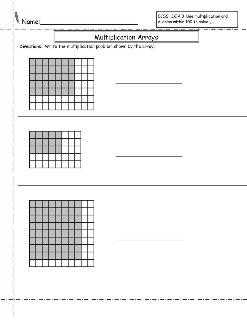 medium resolution of Free 3rd Grade Math Students   Activity Shelter