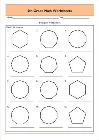 Free 5th Grade Math Worksheets | Activity Shelter