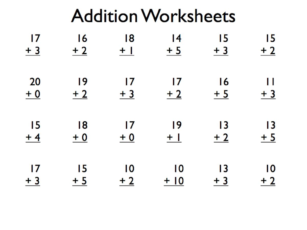 hight resolution of Printable Grade 1 Math Worksheets   Activity Shelter