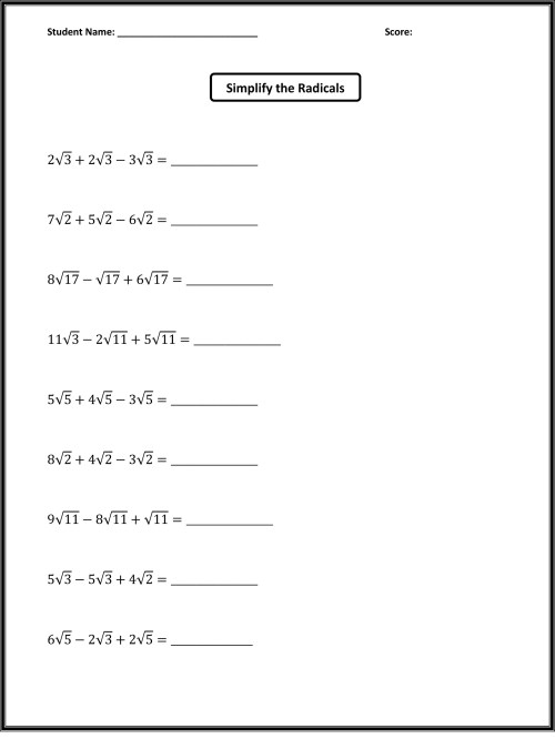 small resolution of 6th Grade Math Worksheets   Activity Shelter