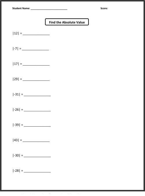 small resolution of Grade 5 Math Worksheets   Activity Shelter