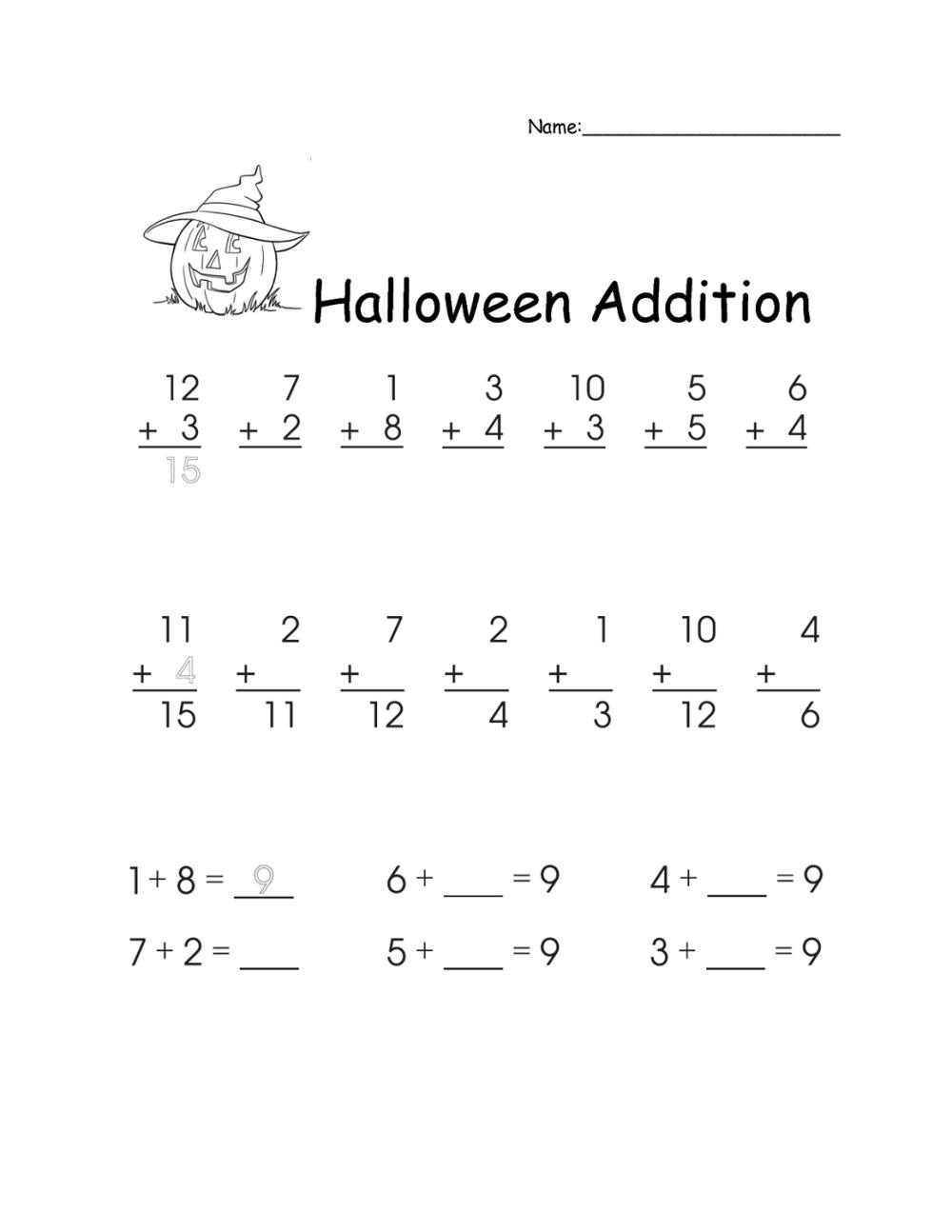 medium resolution of Math Worksheets for 1st Grade   Activity Shelter