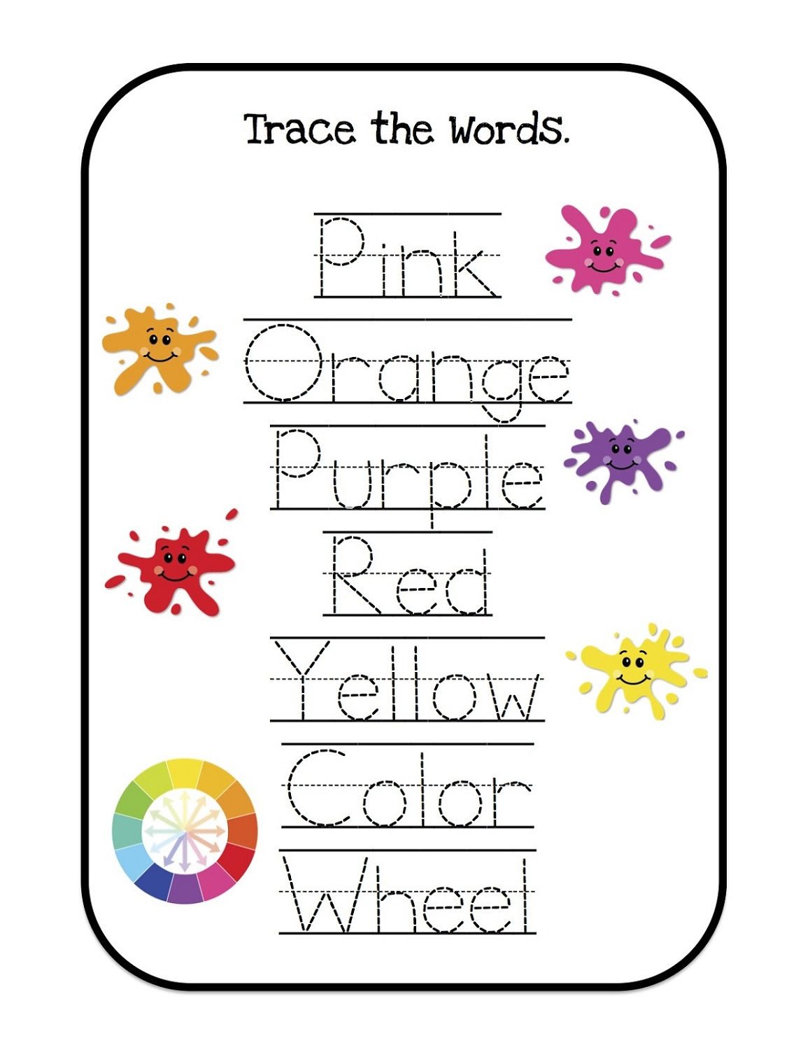 Free Preschool Worksheets To Print