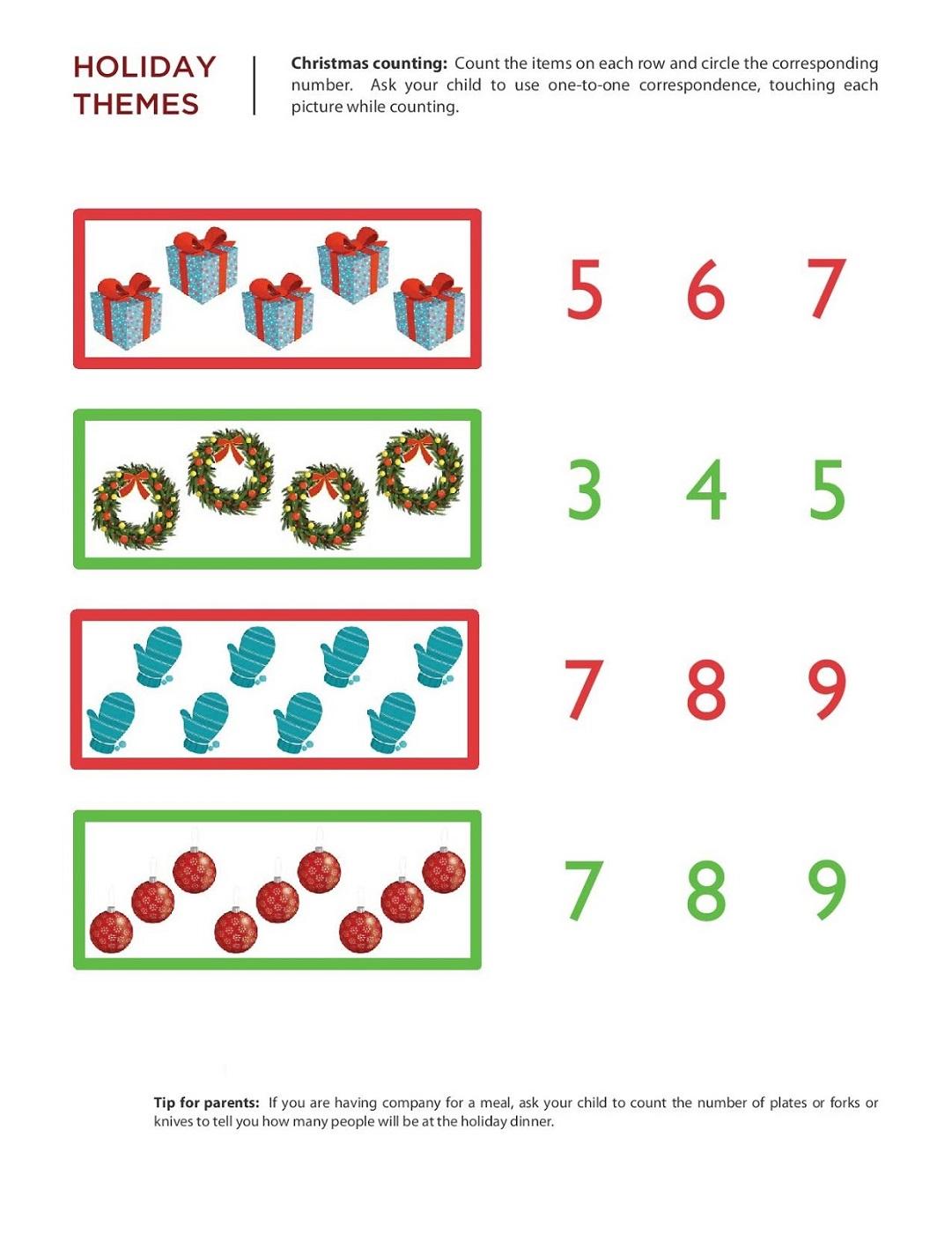 Free Math Printouts Worksheets