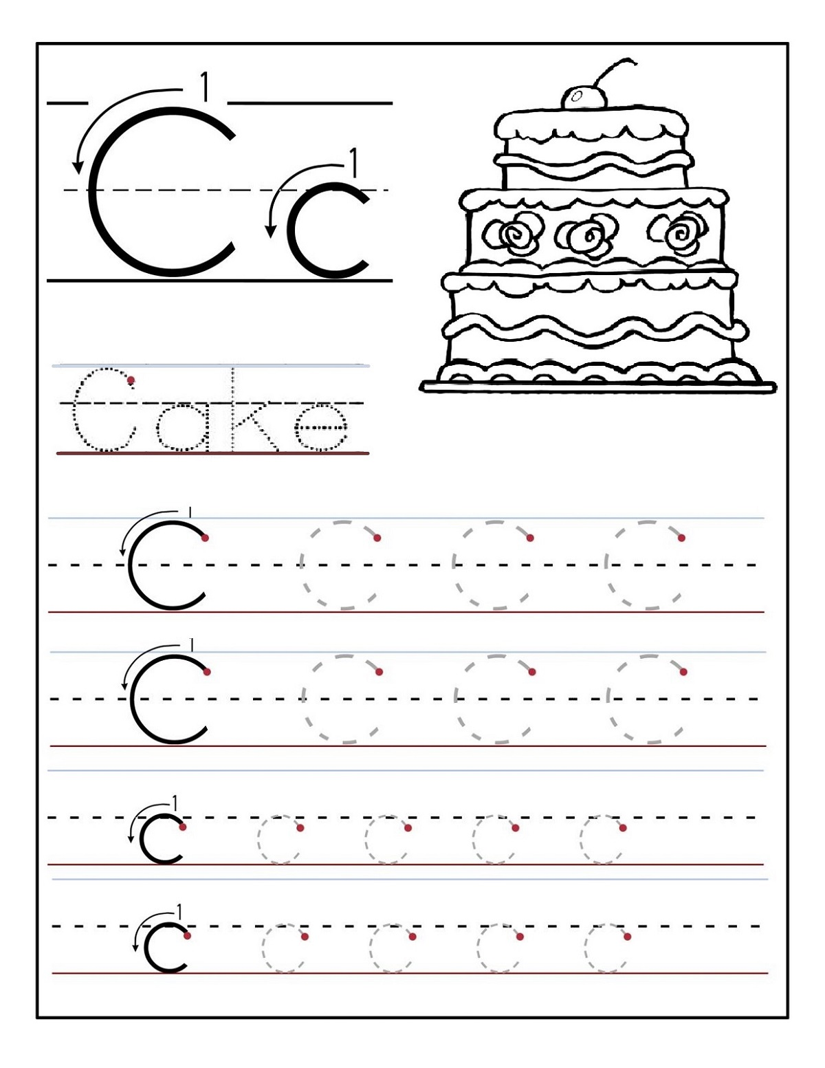 New Free Preschool Worksheets