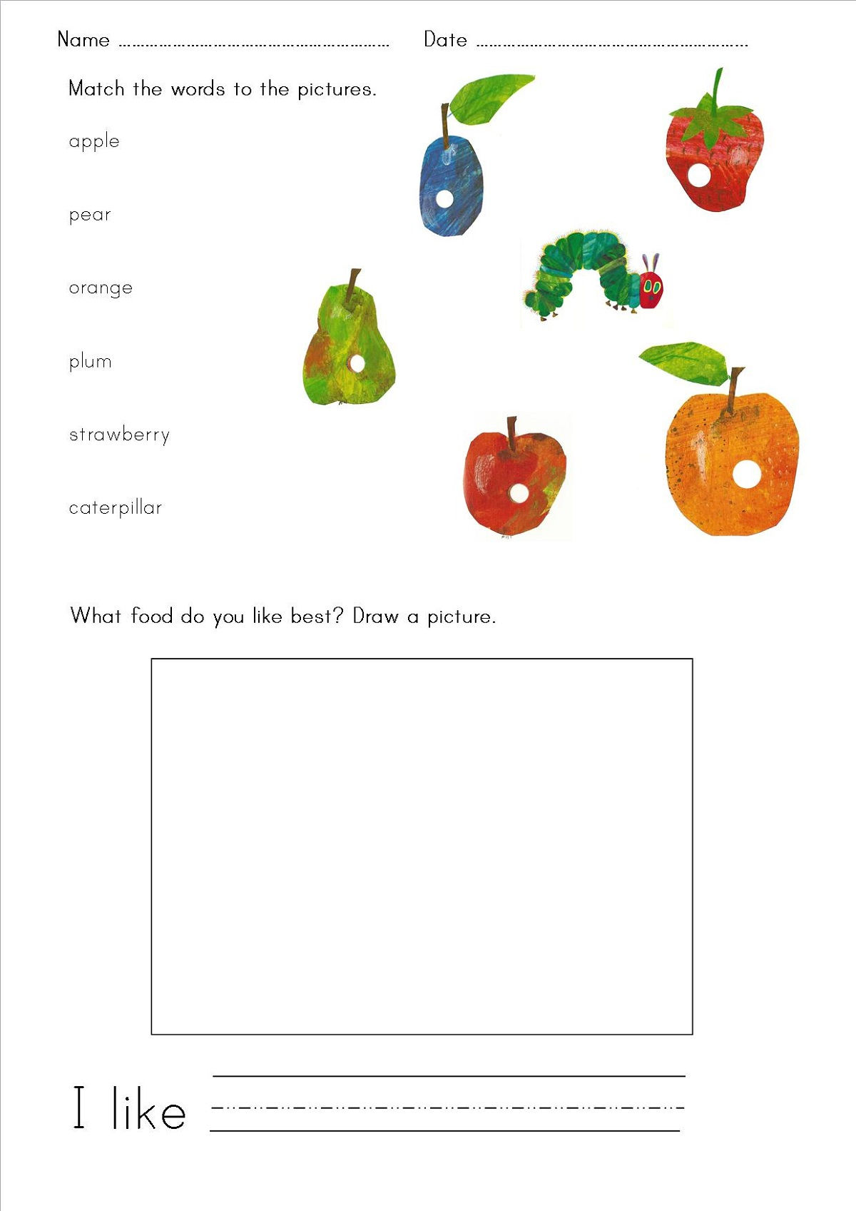 Printable Resources With Various Subject Lesson