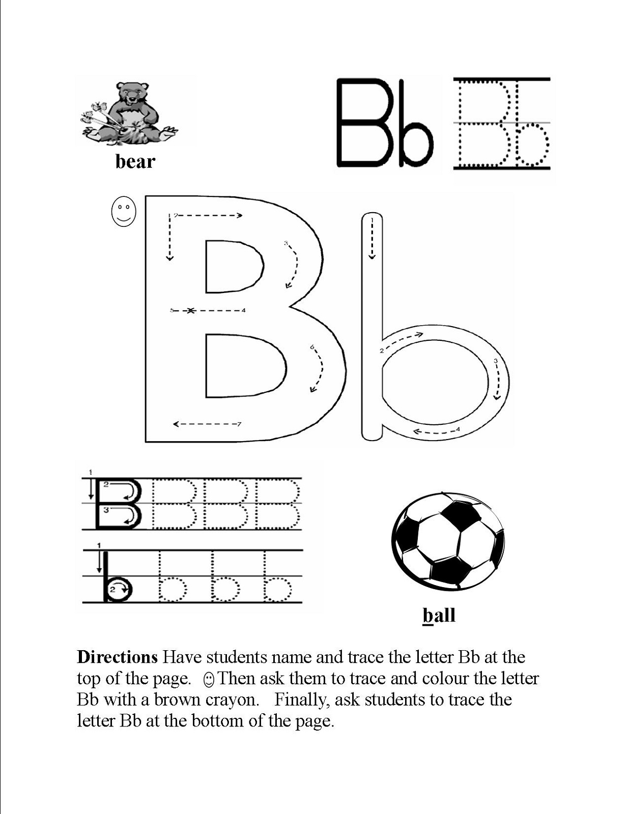 Head Start Worksheets Alphabet For Kids