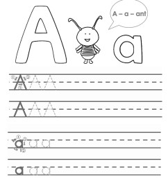 ABC Trace Worksheets 2019   Activity Shelter [ 1113 x 1000 Pixel ]