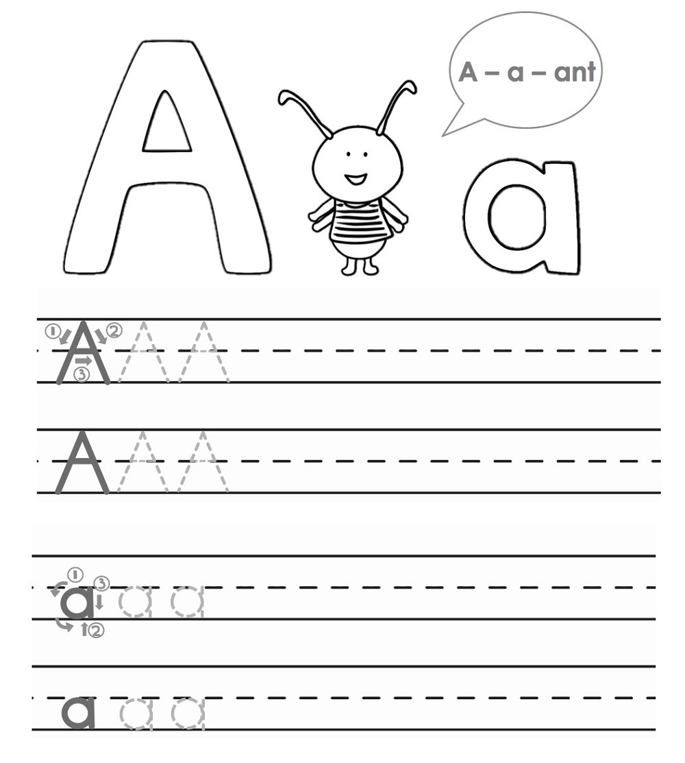hight resolution of ABC Trace Worksheets 2019   Activity Shelter