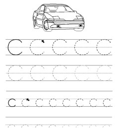 ABC Trace Worksheets 2019   Activity Shelter [ 1333 x 1000 Pixel ]