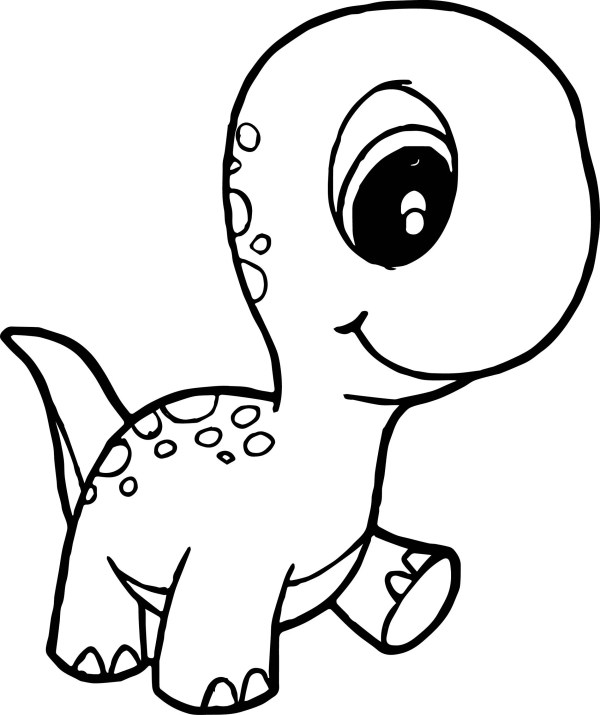 baby dinosaur coloring pages # 1