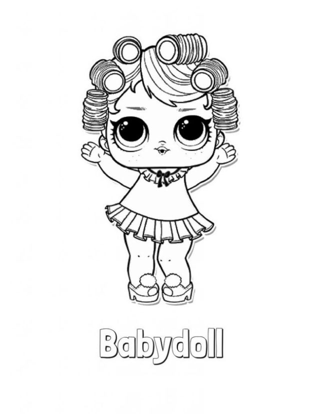 Baby Doll Coloring Pages Activity Homeschooling  Activity Shelter