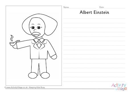 Albert Einstein Story Paper