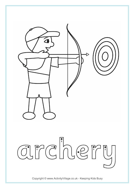 Archery Finger Tracing