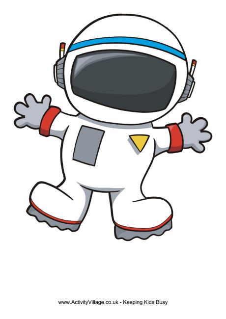 astronaut frame
