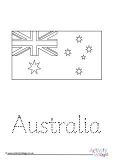 Australia Acrostic Poem Printables