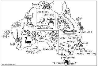 Australia Puzzles for Kids