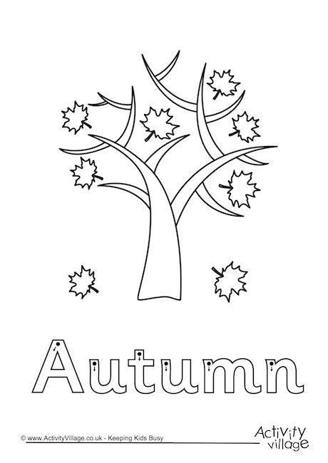 Autumn Finger Tracing