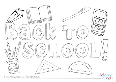 Coloring Pages Kids 2020: 31 Schools Out Coloring Pages