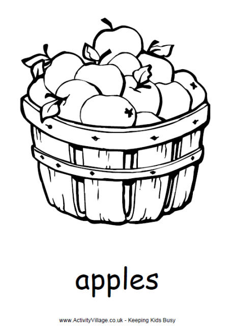 Harvest Colouring Pages