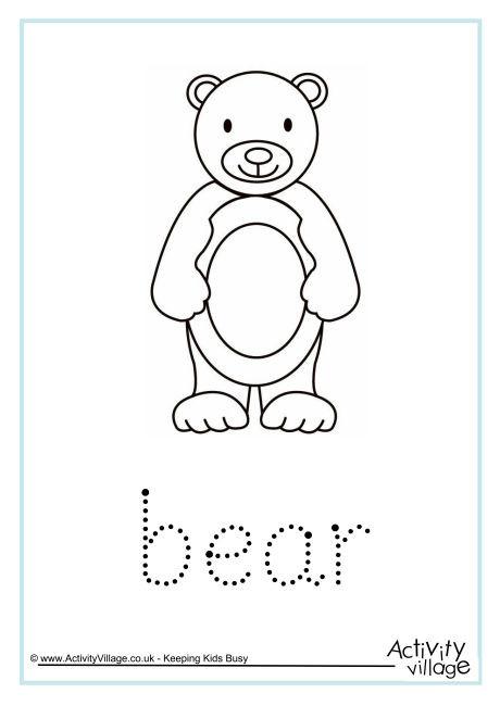 Bear Word Tracing