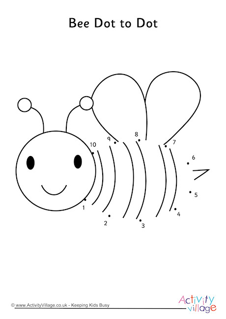 Bee Dot to Dot