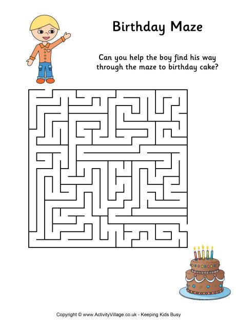 Birthday Maze 2