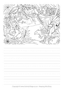 Brazil Colouring Pages