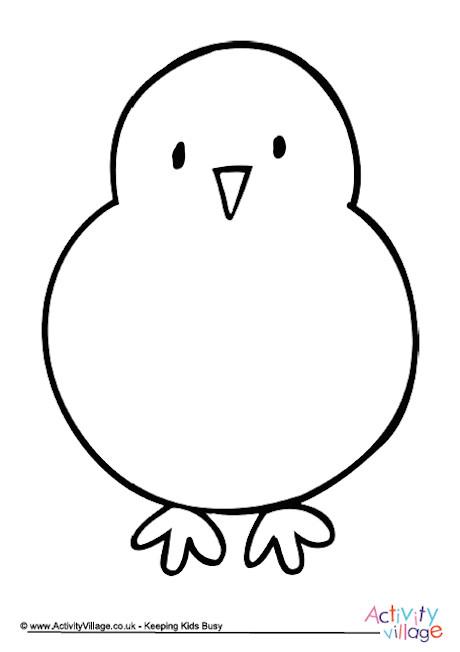 Chick Writing Frame 2