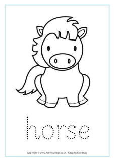 Chinese Zodiac Handwriting Worksheets