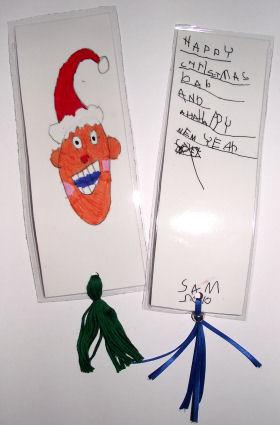 Make A Christmas Bookmark
